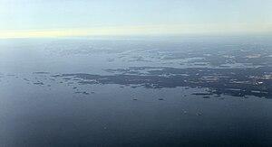 Porkkalanniemi - Aerial view of Porkkala