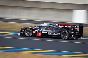 2015 24 Hours of Le Mans - Neel Jani secured Porsche's first pole position at Le Mans since 1997.