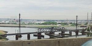 Portal Bridge - Portal Bridge from Interstate 95
