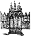 Portativt altare, domkyrkan i Halberstadt, Nordisk familjebok.png