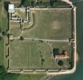 Portchester Castle - aerial image, Hampshire Data Portal.png