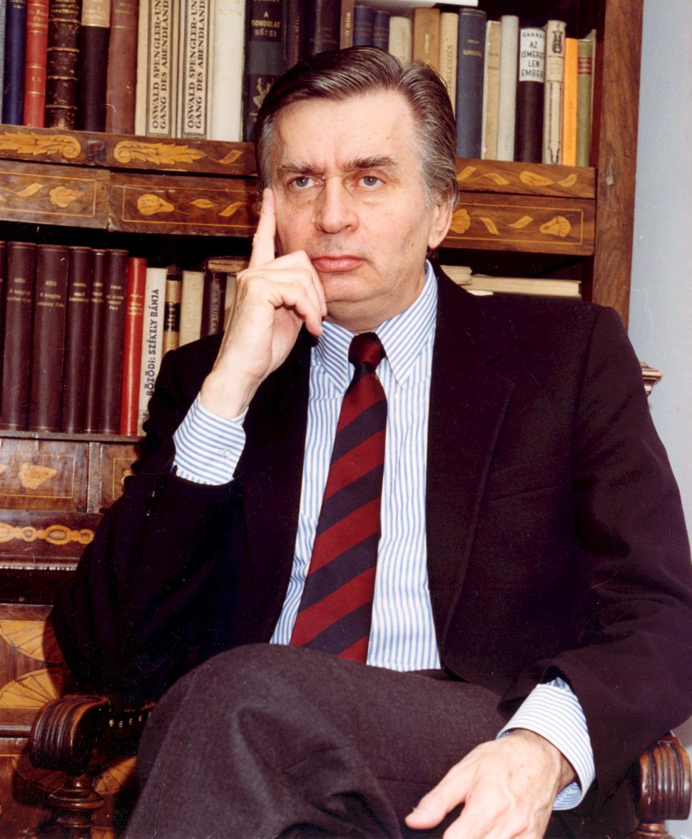 Portrait of J%C3%B3zsef Antall, Jr