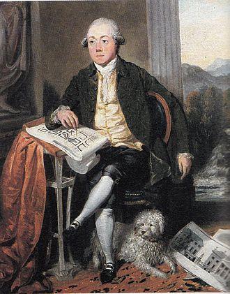 James Craig (architect) - portrait by David Allan
