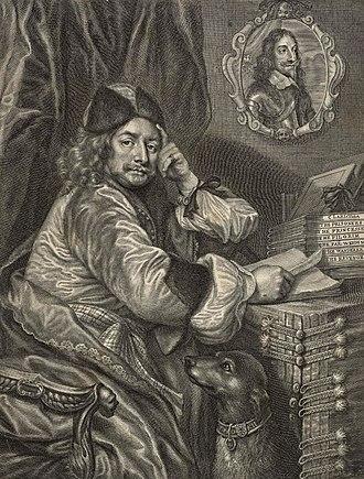 Thomas Killigrew - Print of Thomas Killigrew, after a portrait by William Sheppard