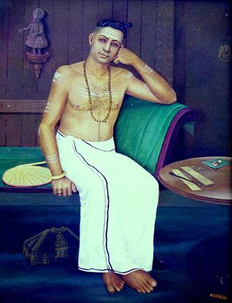 Unnayi Variyar - Portrait of Unnayi Warrier