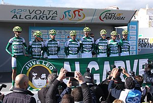 Portugal - Algarve - Lagos - 2016 Volta ao Algarve - Cycle team (25699712521).jpg