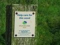 Post, Corrog Wood - geograph.org.uk - 973319.jpg