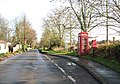 Postbox and K6 telephone box on Rectory Road - geograph.org.uk - 1606729.jpg