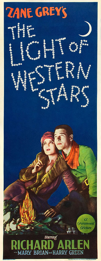 The Light of Western Stars (1930 film) - Image: Poster Light of Western Stars, The (1930) 03