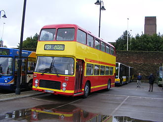 First Potteries - Image: Potteries Motor Traction 731 NEH 731W
