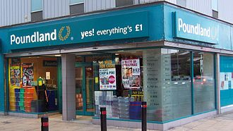 99p Stores - Poundland was 99p Stores' closest rival and competitor in the price-point retail sector until 2015.