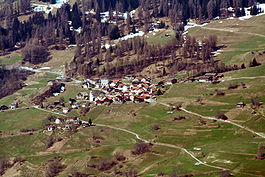 Präz from the air
