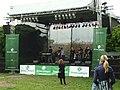 Praha, Žižkov, Parukářka, Koncert pro Zelené, pódium II.JPG