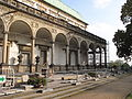 Praha, Královská zahrada, rekonstrukce královského letohrádku (002).JPG