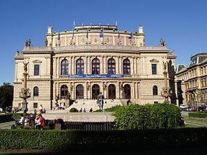 Josef Zítek - Rudolfinum, Prague