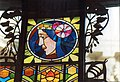 Praha Entrance To Obecni Dum - Stained Glass By Alfons Mucha.jpg