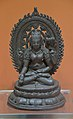 Prajnaparamita - Bronze - ca 10th Century CE - Nalanda - ACCN 9430-A24285 - Indian Museum - Kolkata 2016-03-06 1732.JPG