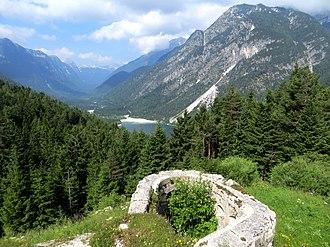 Predil Pass - Image: Predil Pass view west