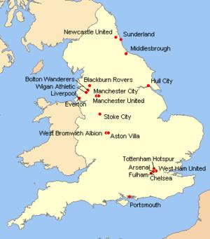 Royaume Uni Ville Carte