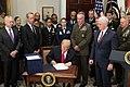 President Donald J. Trump signs H.R. 2810 (39132658272).jpg
