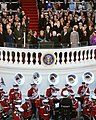 President Richard Nixon Taking the Oath of Office during his Second Inauguration.jpg