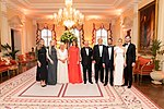 President Trump and First Lady Melania Trump at Winfield House (48008124831).jpg