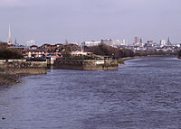 Preston Riversway Docks on the River Ribble