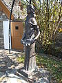 Primavera statue by Miklós Borsos, 1978. - Borsos Sq., Tihany.JPG