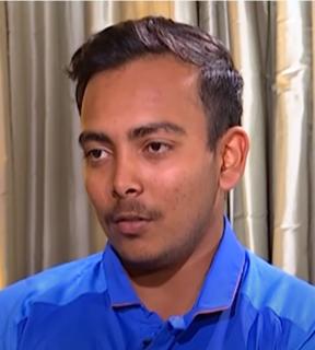 Prithvi Shaw Indian cricketer (born 1999)