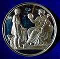 Prussia 1856, Award Medal for Students of today's Technical University Berlin. Sn- Test Strike. Reverse.jpg