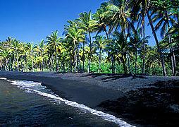 Punaluu Beach Park, Big Island, Hawaii