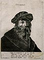 Pythagoras. Etching by Remondini. Wellcome V0004827.jpg