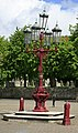 Queen Victoria's street lamp, Ringwood Market Place - geograph.org.uk - 173973.jpg