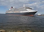 Queen Victoria departing Tallinn Port of Tallinn Tallinn 5 May 2019.jpg