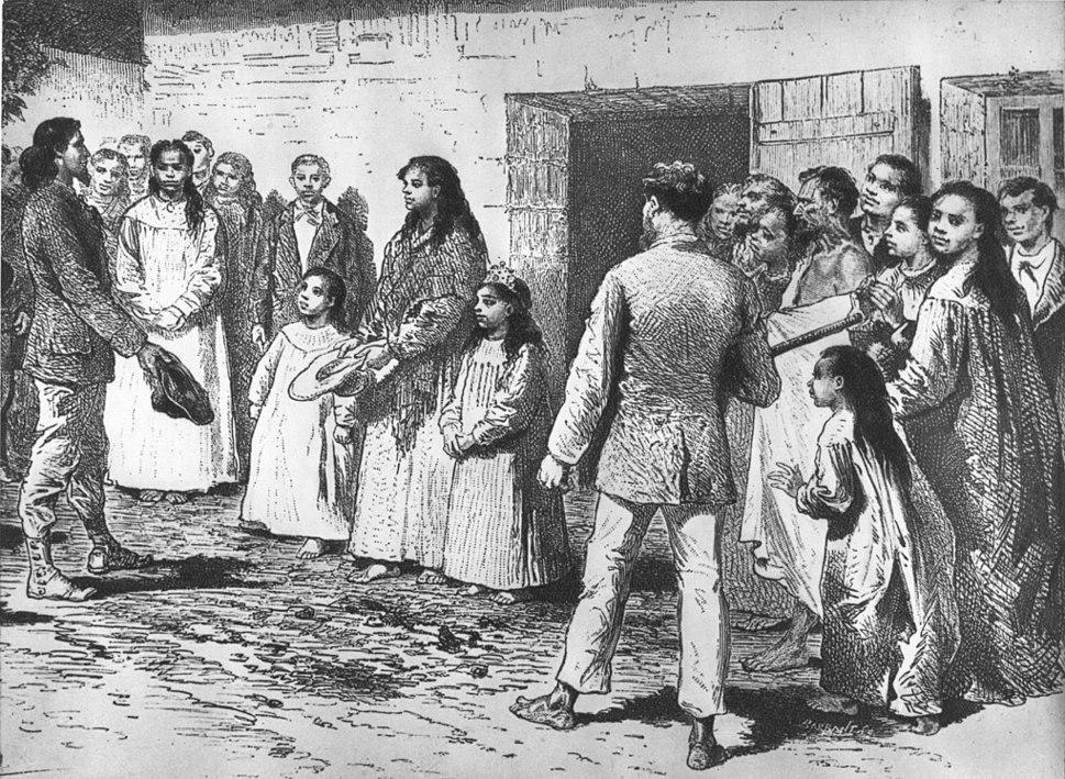Queen of Easter Island meets Pinart in 1877