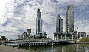 Queens Bridge (Melbourne) - Image: Queens Bridge Melbourne