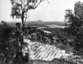 Queensland State Archives 249 Looking from Noosa Heads Lookout towards the Noosa River Weyba Creek and Mount Cooroy c 1931.png