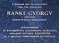 Ránki György emléktáblája II kerület Gül Baba utca 36.jpg