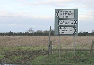 R125 road (Ireland) - Image: R125Meath