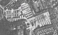 Aerial photograph of the site