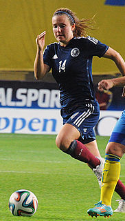 Rachel Corsie Scottish footballer
