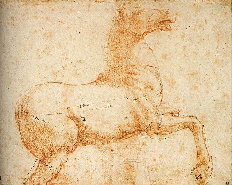 Файл: Raffaello, студия в уна scultura equestre.jpg