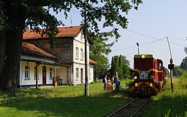 Railway Station in Kańczuga (Poland, July 2012).jpg