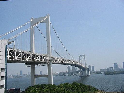 Il Rainbow Bridge di Tokyo. Giappone. 2004