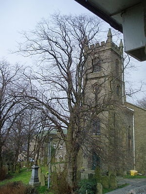 Rainow - Image: Rainow Church