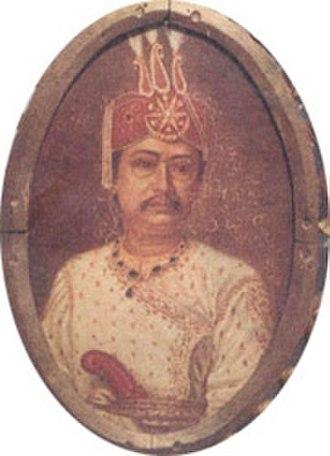 Radha Kishore Manikya - Image: Raja Radha Kishore Manikya