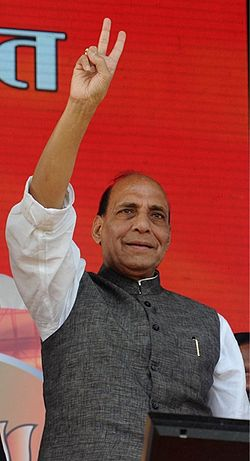 File photo of Rajnath Singh in 2013. Image: Vibhijain.