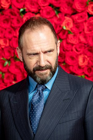 """Ralph Fiennes from """"The White Crow"""" at Opening Ceremony of the Tokyo International Film Festival 2018 (45619321301).jpg"""