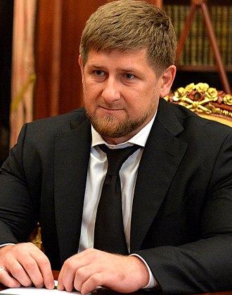 Ramzan Kadyrov - Kadyrov in 2013