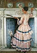 Ranken, William Bruce Ellis; Mrs Kelsey in Pink.jpg